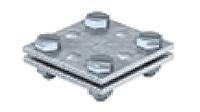 Крестовой соединитель для плоских проводников до 40 мм, оцинкованный