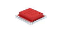 Монтажное основание для ПВХ-каналов UDSSD 308x308x92 мм (сталь). Тип: UDSSD 25038 6