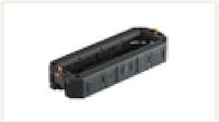 Монтажная коробка UT4 для установки 4xModul45 в лючок, с накладкой (полиамид, черный)