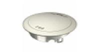 Лючок GES R2, пылевлагостойкий IP66, IK10, 40х140 мм (для монтажных оснований, никелированный)
