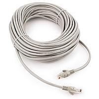 Патч-корд UTP Cablexpert PP12-10M кат.5e  10м  литой  многожильный (серый)