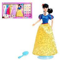 Кукла модель 'Анна' с набором вечерних платьев и аксессуаров, МИКС