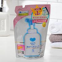 Натуральное мыло-пенка для рук для всей семьи, Cow, (мягкая упаковка 320 мл) / 24