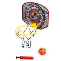 Баскетбол «Штрафной», кольцо, мяч, насос в комплекте