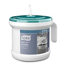 Tork Reflex переносной диспенсер для полотенец с центральной вытяжкой 473186, фото 2