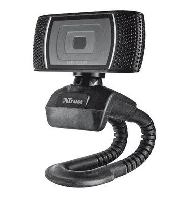 Веб-камера Trust Trino черная