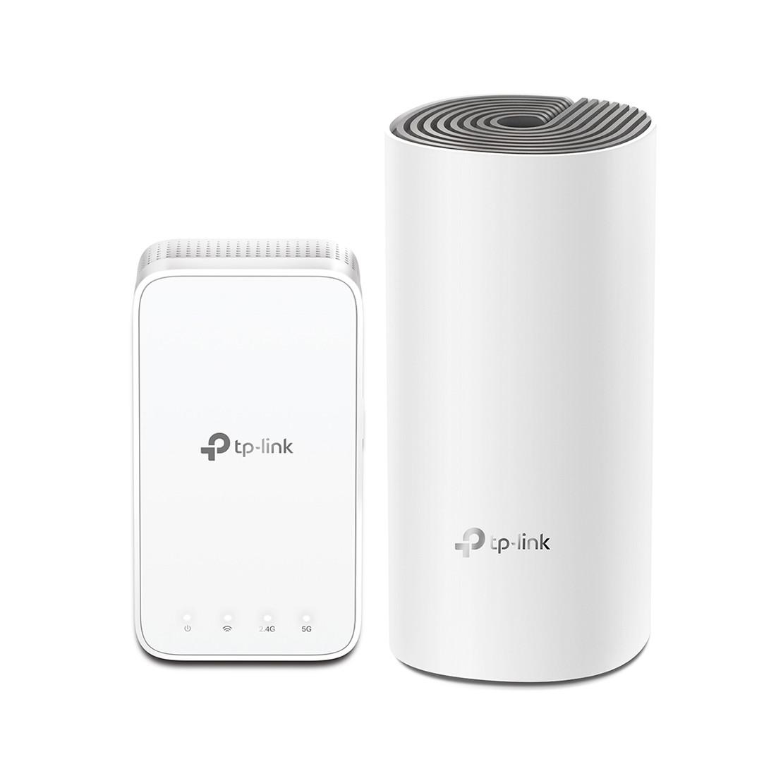 Домашняя Mesh Wi-Fi система AC1200 Tp-Link Deco E3 (2 устройства)
