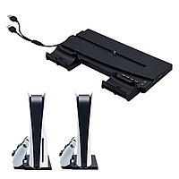 Вертикальная подставка для PS5 с докстанцией