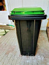 Бак-контейнер пластиковый 240 литров