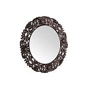 Круглое зеркало настенное 86х86 см, медный CLK899