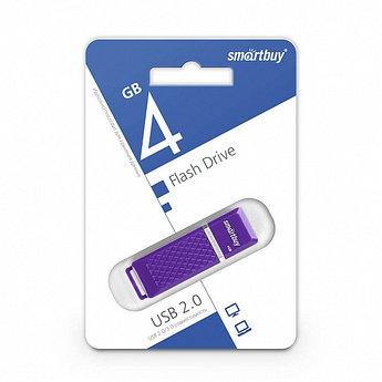 USB-накопитель Smartbuy 4GB Quartz series Violet