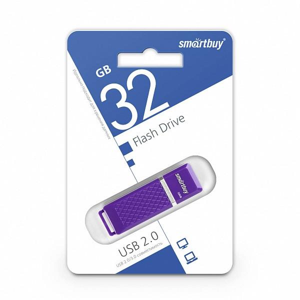 USB-накопитель Smartbuy 32GB Quartz series Violet