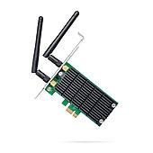 Сетевой адаптер беспроводной PCIe AC1200 Tp-Link Archer T4E