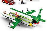 Конструктор Sluban Авиация 0371: грузовой самолет 383 деталей аналог лего Lego City Аэропорт, фото 7