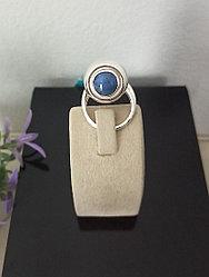 Кольцо «Сфера» с эвдиалитом / 18,5 размер