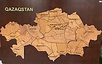 Панно карта Казахстана (1*0,7 м)
