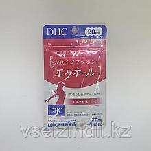 Эквол (изофлавоны сои) DHC на 20 дней, гормональный фон, менопауза, приливы, депрессия, бессоница