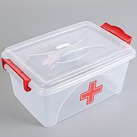 Аптечка для лекарств 2.5 л (контейнер для аптечки прямоугольный)
