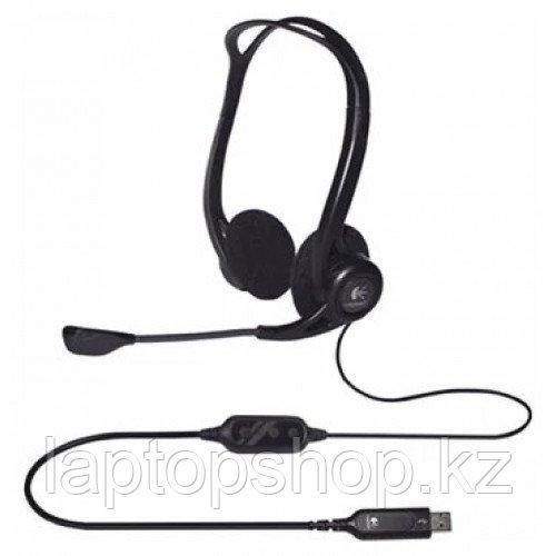 Наушники с микрофоном Logitech Headset 960 USB (981-000100)