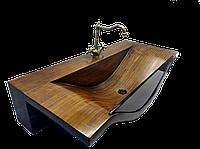 "Раковина из дерева, модель ""Море"" (""SEA"")"