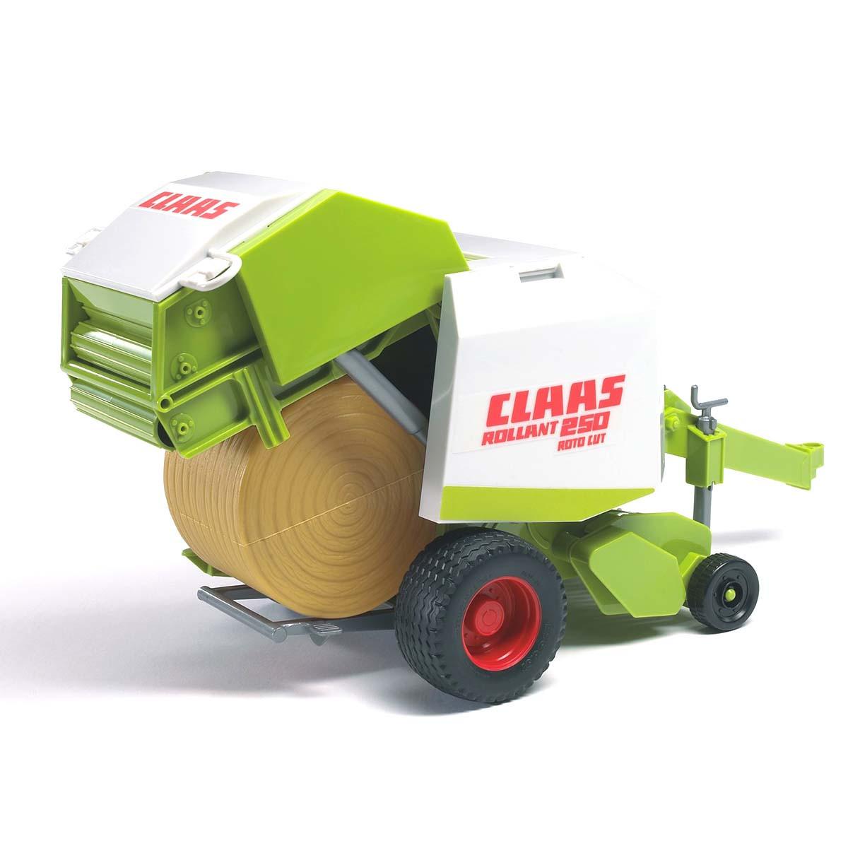 Bruder Игрушечный Рулонный пресс-подборщик Bruder CLAAS Rollant 250 (Брудер 02-121)