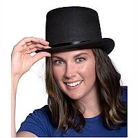 Шляпа Цилиндр фетр