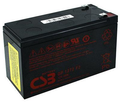 Аккумулятор для UPS, CSB GP1272 F2, черный