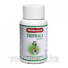 Трифала Гуггул (Triphala Guggulu) Байдьянахт, Baidyanath, 80 табл., очищение кишечника, язва, артрит, отек