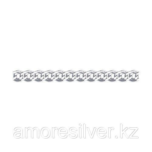 Браслет SOKOLOV серебро с родием, без вставок, нонна 965061006 размеры - 18 20 21