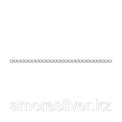 Браслет SOKOLOV серебро с родием, без вставок, ромб двойной 965040402 размеры - 16 17 18 19