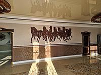 Панно 7 Коней (2,3*1 м)
