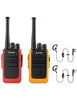 Радиостанция Союз 1 Ver.2.0 ORANGE/RED Twin Pack + гарнитура