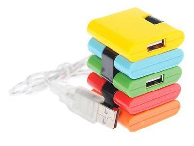 """USB-разветвитель Konoos UK–06 """"Конструктор"""""""