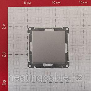 Atlas Design  перекрестный переключатель МЕХАНИЗМ, скрытая установка алюминий, фото 2