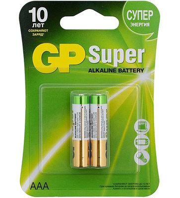 Батарейки GP Super AAA GP24A-CR2