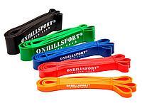 Набор из 5-ти резиновых петель ONHILLSPORT (3 - 70 кг)