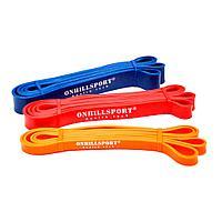 Набор из 3-х резиновых петель ONHILLSPORT (3 - 38 кг)