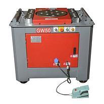 Станок для гибки арматуры VEKTOR GW50 с пневмопедалями и доводчиком