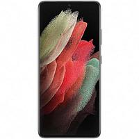 "Смартфон Samsung Galaxy S21 Ultra SM-G998B, 6.8"", DAmoled, 12Гб, 256Гб, 108Мп, чёрный"