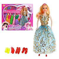 Кукла-модель «Кристина» с набором платьев и обуви, МИКС