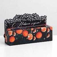 Коробочка для макарун Mandarin, 18 х 5,5 х 5,5 см (комплект из 5 шт.)