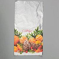 Пакет подарочный 'Снежный танец', 30 х 50 см (комплект из 100 шт.)
