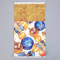 Пакет подарочный 'Подарки зимы', 20 х 35 см (комплект из 100 шт.)