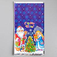 Пакет подарочный 'Новогодние чудеса', 20 х 35 см (комплект из 100 шт.)
