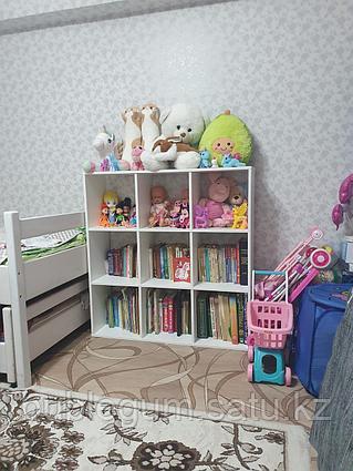 Стеллаж Polini Home Smart 9 секций белый