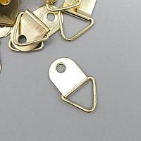 Подвес металл для фоторамки/картины золото 2х1,3 см (комплект из 40 шт.)