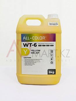 WT-6 Y краска сольвент 5л. KONICA желтый