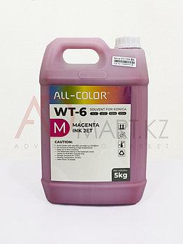 WT-6 M краска сольвент 5л. KONICA красный