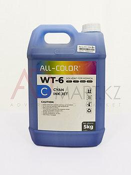 WT-6 C краска сольвент 5л. KONICA синий