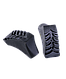 Палки для скандинавской ходьбы Forester, 67-135 см, 3-секционные, серый/черный Berger, фото 3
